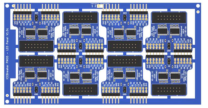 pmod-led-matrix-driver-panel-v12c
